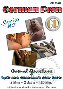 German Porn Series #2 - Ma's And Grandma's Cum Bath Box Cover