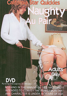 Naughty Au Pair Box Cover