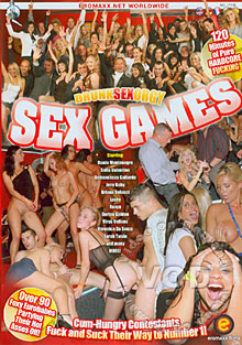 Drunk Sex Orgy - Sex Games Box Cover
