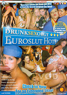 Drunk Sex Orgy - Euroslut Hotel Box Cover