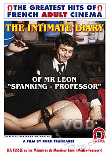 The Intimate Diary of Mr. Leon - Spanking Professor (French Language) Box Cover