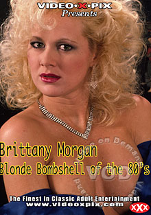 Brittany Morgan - Blonde Bombshell Of The 80s Box Cover