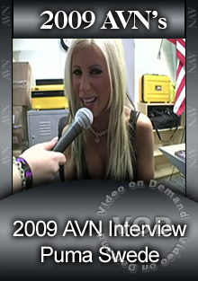 2009 AVN Interview - Puma Swede Box Cover