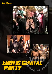 Erotic Genital Party Box Cover