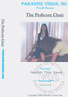 The Pedicure Chair Box Cover