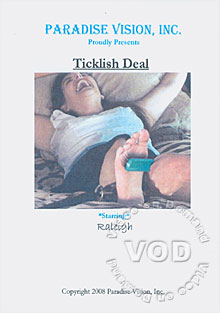 Ticklish Deal Box Cover