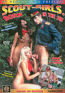 Scout - Girls Born In The Sin Box Cover