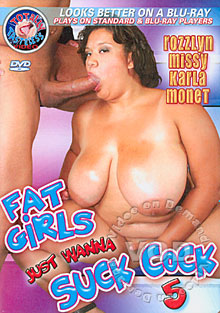 Fat Girls Just Wanna Suck Cock 5 Box Cover