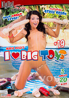 I Love Big Toys #19 Box Cover