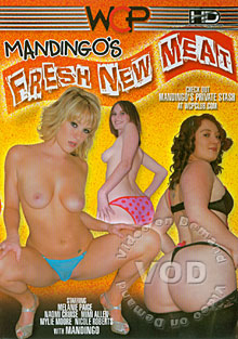 Mandingo's Fresh New Meat Box Cover