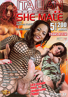 Italian She Male 30 Box Cover