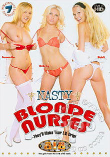 Nasty Blonde Nurses Box Cover