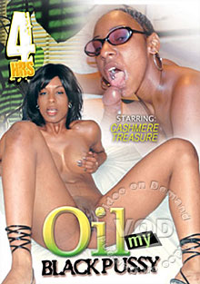 Oil My Black Pussy Box Cover