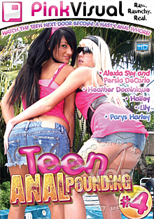 Teen Anal Pounding 4 Box Cover