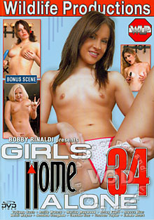 Girls Home Alone 34 Box Cover