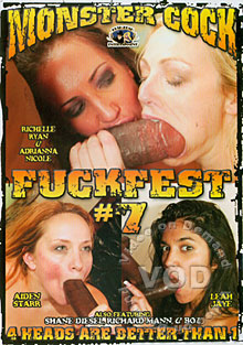 Monster Cock Fuckfest 7 Box Cover