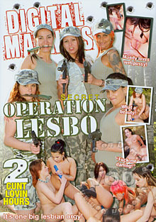 Secret Operation Lesbo Box Cover