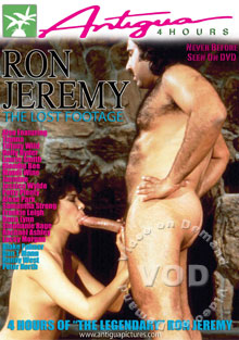 Ron Jeremy - The Lost Footage Box Cover