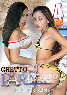 Ghetto Party Girls Box Cover