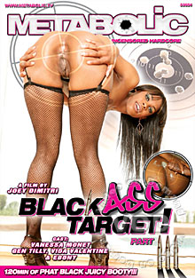 Black Ass Target! Part III Box Cover