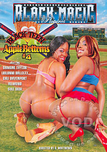 Black Teen Apple Bottoms #4 Box Cover