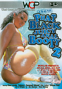Phat Black Juicy Anal Booty 2 Box Cover
