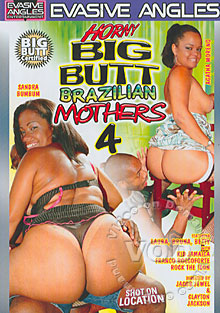 Horny Big Butt Brazilian Mothers 4 Box Cover