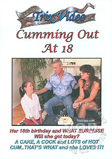 Cumming Out At 18 Box Cover