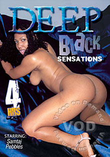 Deep Black Sensations Box Cover