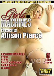 Girls On Machines - Allison Pierce Box Cover
