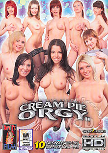 Cream Pie Orgy 11 Box Cover