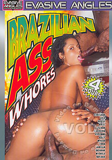 Brazilian Ass Whores Box Cover