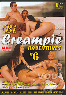 Bi Creampie Adventures #6 Box Cover