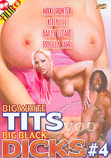 Big White Tits Big Black Dicks #4 Box Cover