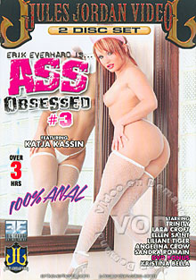 Ass Obsessed 3 (Disc 1) Box Cover
