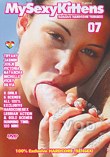 My Sexy Kittens #7 Box Cover