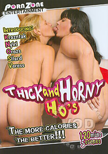 Thick And Horny Ho's Box Cover