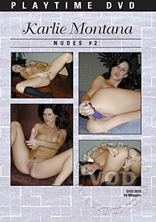 Karlie Montana Toy/Finger Fucking Jerk Off Encouragement 2 Box Cover