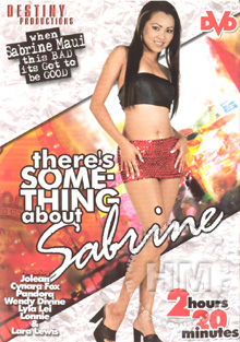 There's Something About Sabrine Box Cover