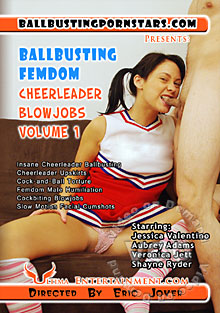 Ballbusting Femdom Cheerleader Blowjobs Volume 1 Box Cover