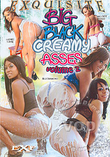 Big Black Creamy Asses 2 Box Cover