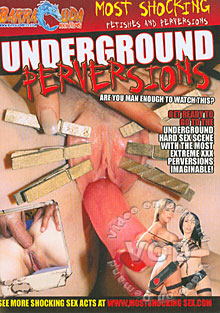 Underground Perversions Box Cover
