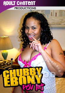 Chubby Ebony POV BJ Box Cover
