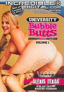 University Bubble Butts Volume 1 Box Cover