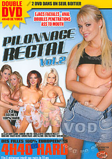 Pilonnage Rectal Volume 2 (Disc 2) Box Cover