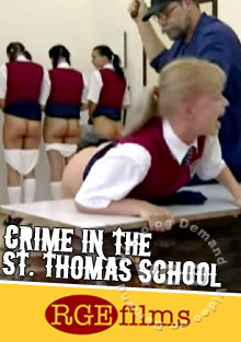 Crime In The St. Thomas School Box Cover