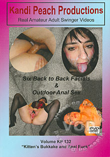 Volume KP 132 - Kitten's Bukkake And Anal Fuck Box Cover