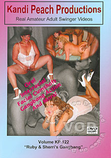 Volume KP 122 - Ruby & Sherri's Gangbang Box Cover