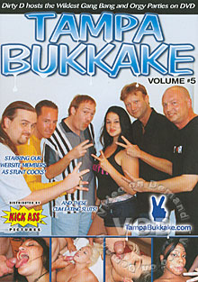 Tampa Bukkake Volume #5 Box Cover