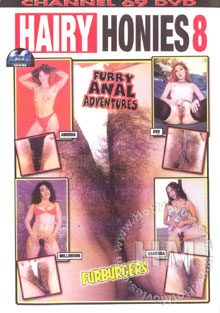 Hairy Honies 8 Box Cover